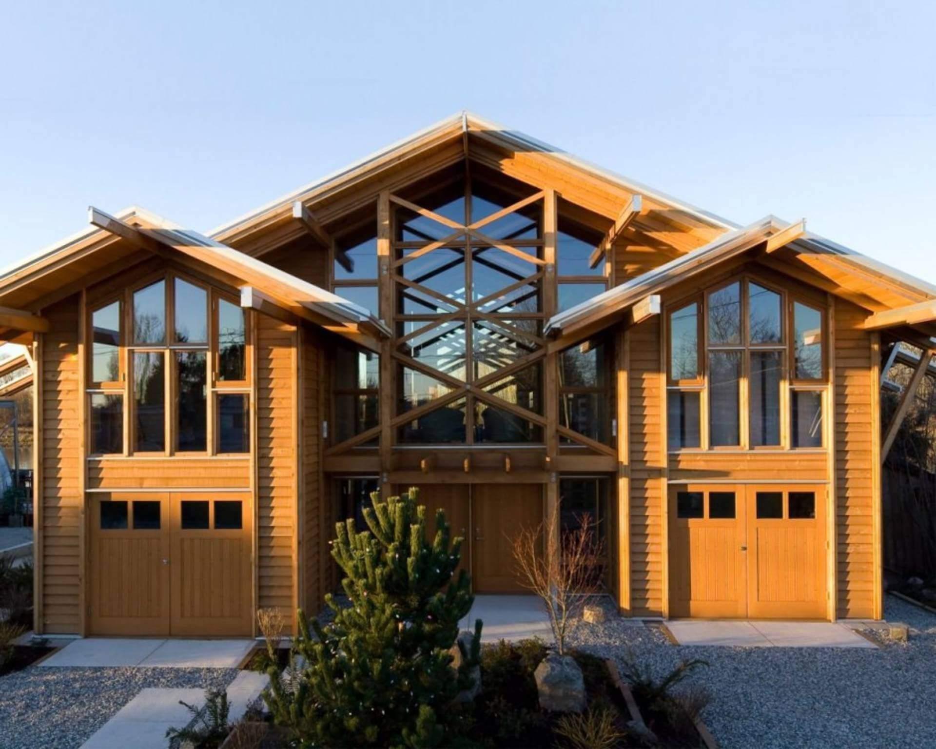 Деревянные эксклюзивные дома из бруса фото